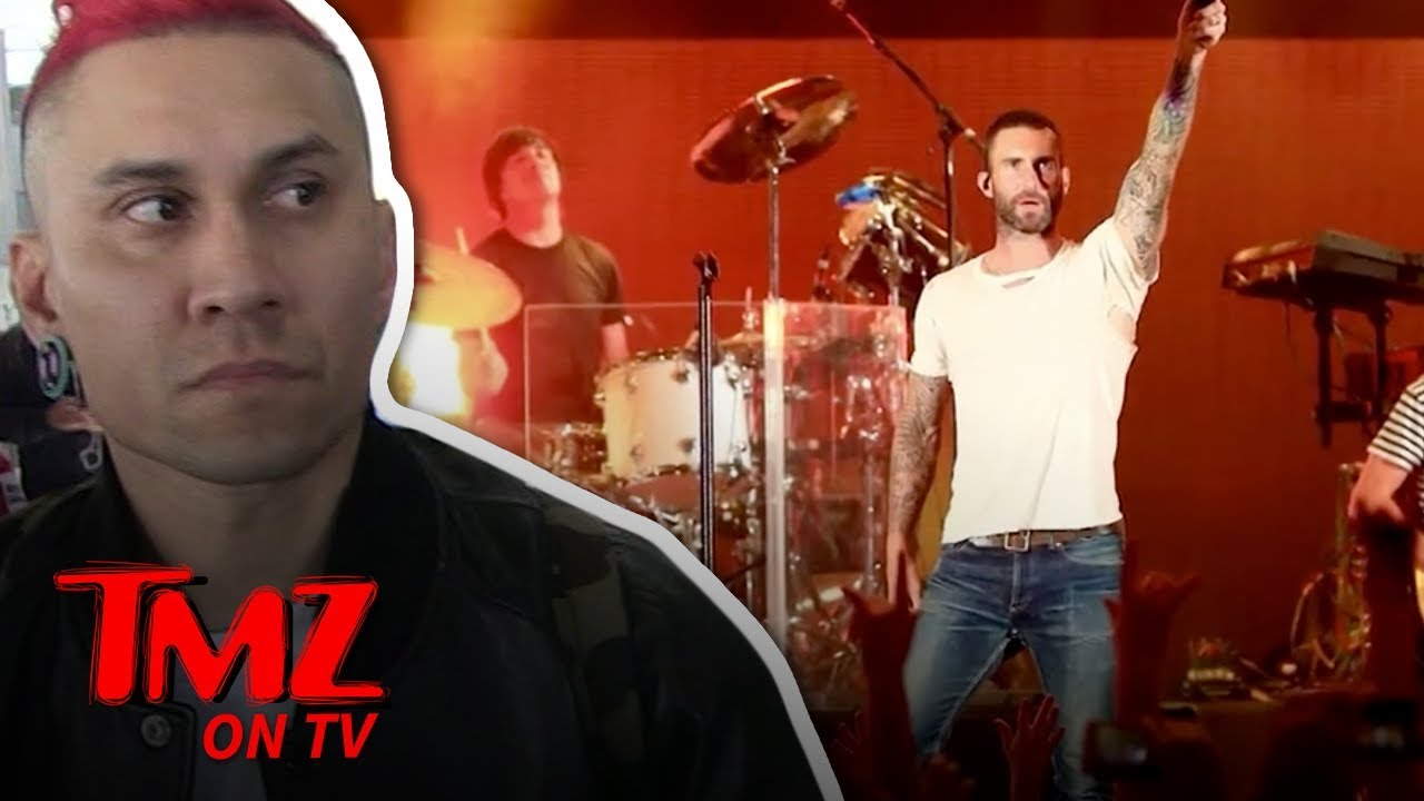 Black Eyes Peas Star Says Maroon 5 Should Blow Off Haters | TMZ TV 3