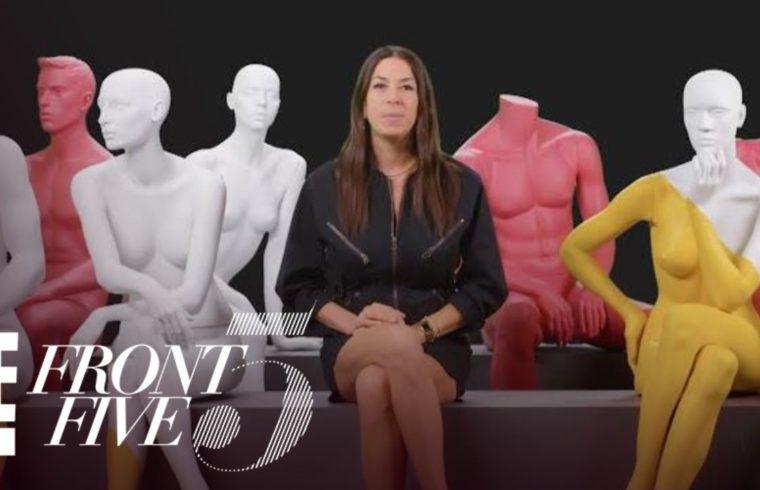 "Rebecca Minkoff Talks Diversity in 2019 NYFW ""Front Five"" | E! 1"