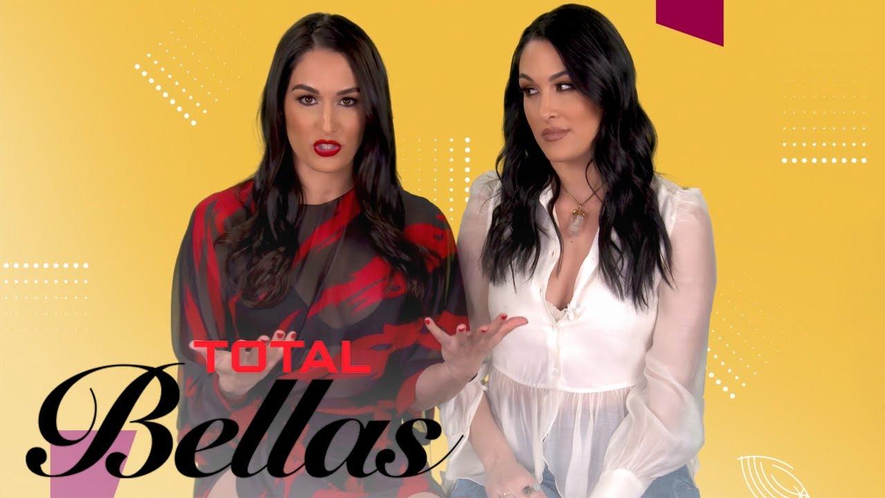 Brie & Nikki Bella Describe Each Other's Style for NYFW | Total Bellas | E! 5