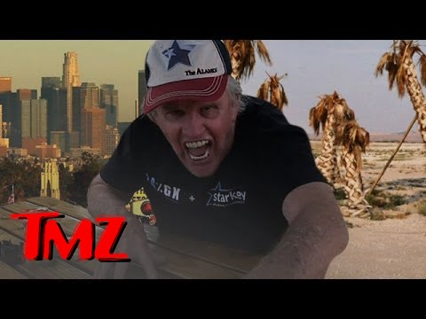 Good news…Gary Busey has a solution for California's drought crisis!!! | TMZ 1