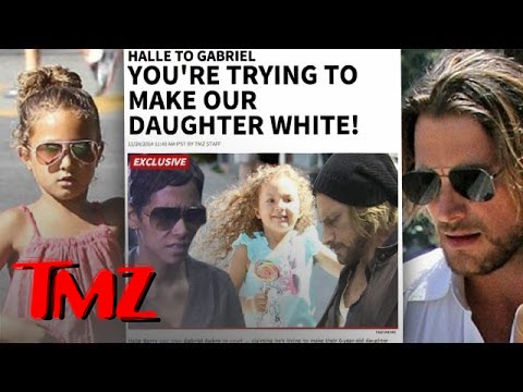Halle Berry To Baby Daddy- Stop Straightening My Daughter's Hair! | TMZ 1