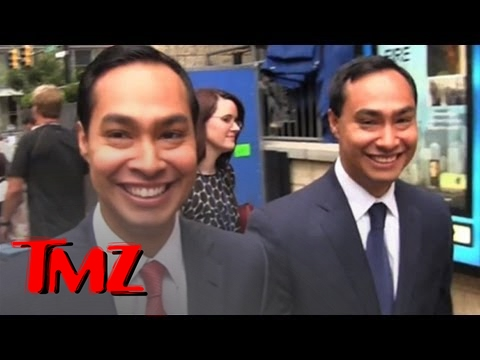 Castro Twins -- Identical... and Kinda Creepy! -- Julian Castro & Joaquin Castro at DNC | TMZ 4