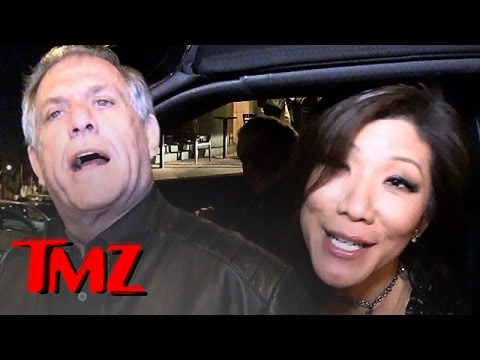 Les Moonves Debunks Joel McHale Rumors | TMZ 1