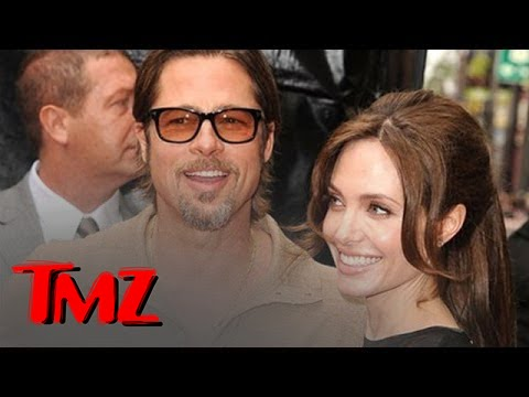 Brad Pitt and Angelina Jolie Get Married ... Finally! | TMZ 4