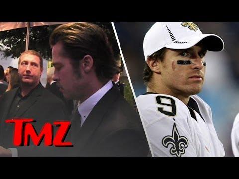 Brad Pitt: Step Off Drew Brees! | TMZ 4