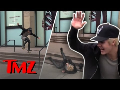 Bieber Boardin' Brah! | TMZ 3