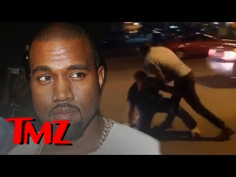 Kanye West Fights The Paparazzi?! | TMZ 3