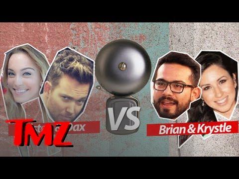 Dax & Kristen VS Brian & Krystle: TMZ Trivia Ice Cream Challenge | TMZ 5