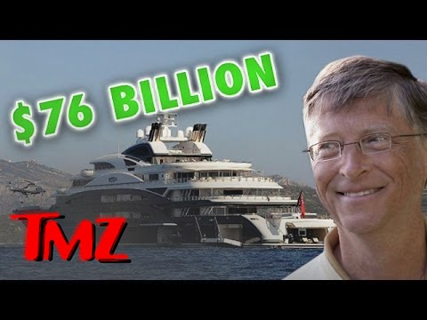 Bill Gates: How to Vacation with 76 Billion Dollars | TMZ 1