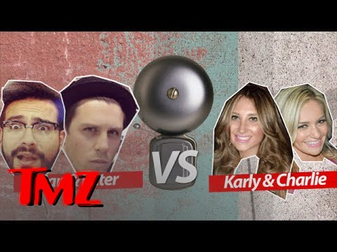 Peter & Brian VS Karly & Charlie: TMZ Trivia Ice Cream Challenge | TMZ 5