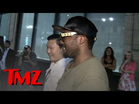 Psy and Will.i.am -- Don't Let Psy Drive! | TMZ 2