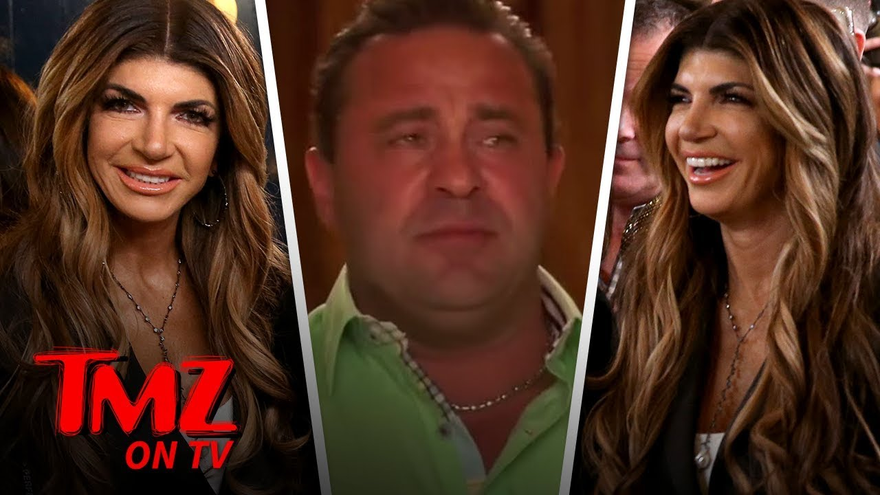 Teresa Giudice Smiles Through Pain Hours After Joe's Taken Into ICE Custody | TMZ TV 2