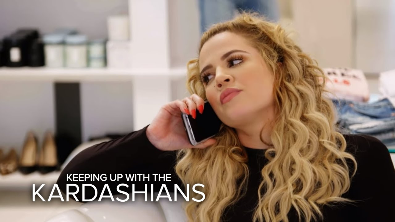 KUWTK | Khloé Kardashian Receives an Emotional Call From Lamar | E! 4