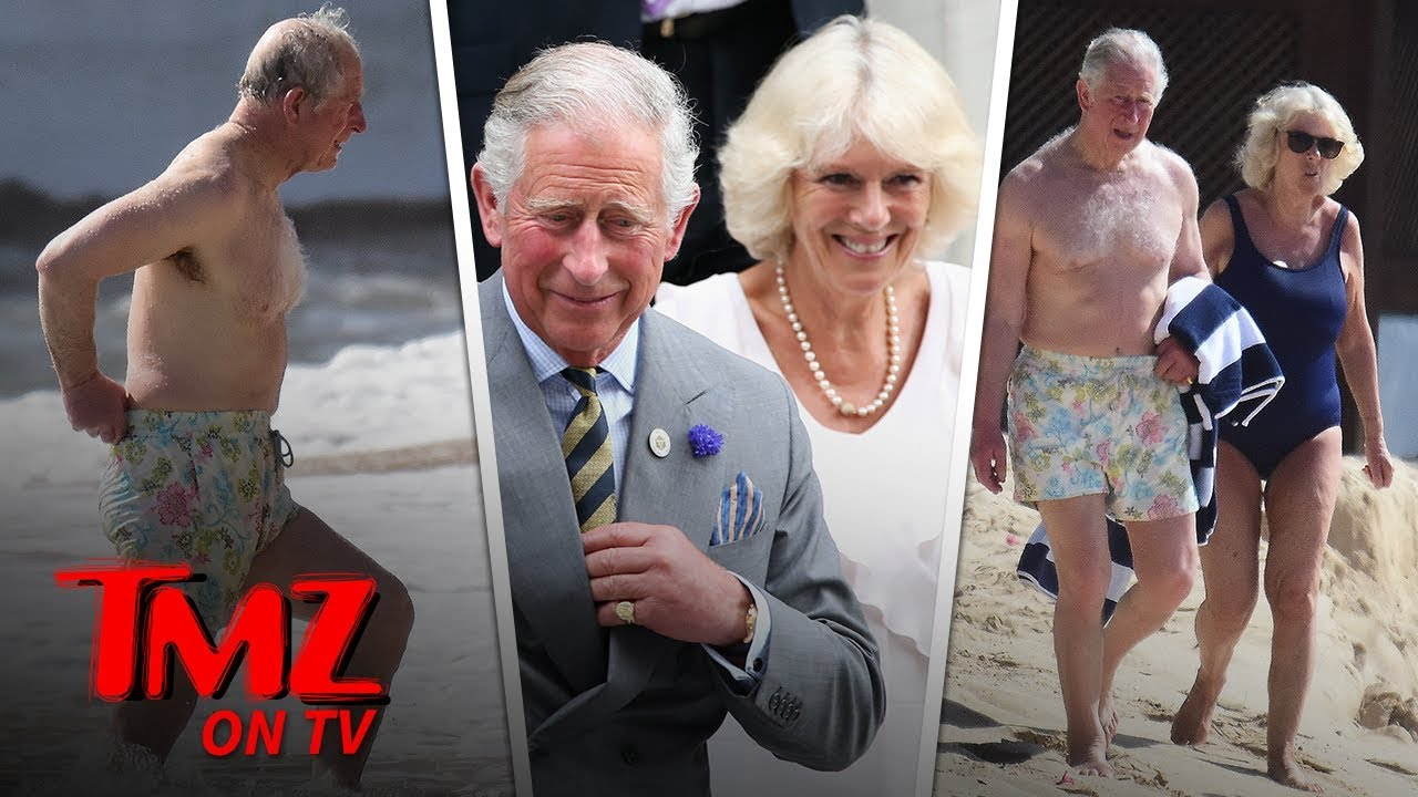 70-Year-Old Prince Charles and Camilla Hit the Beach in Barbados | TMZ TV 4