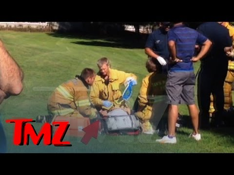 Harrison Ford Plane Crash - Paramedics Treat Harrison | TMZ 5