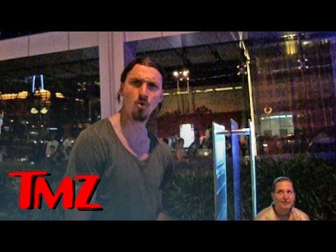 Zlatan Ibrahimovic -- Soccer Legend Rips Team USA ... 'A Big Joke' | TMZ 2