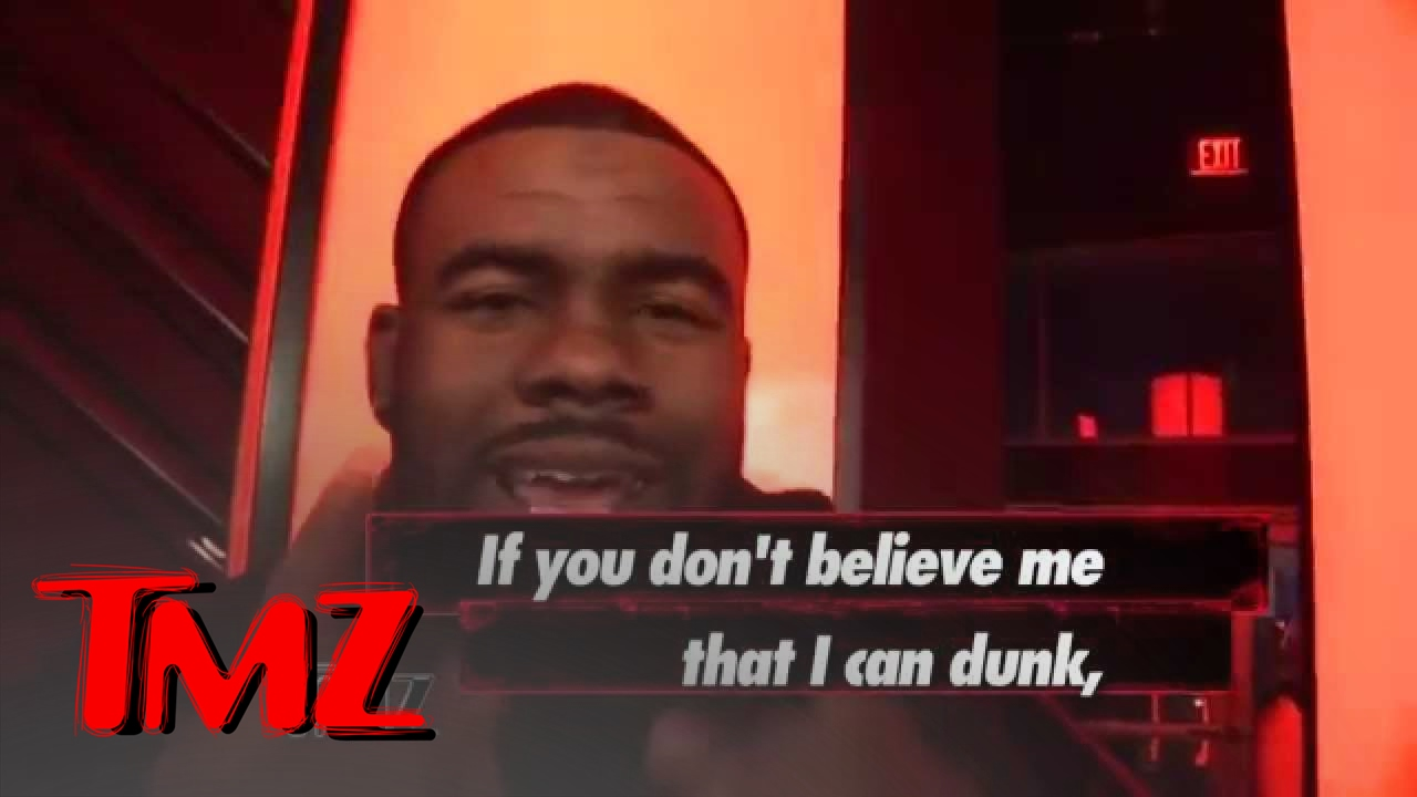 Mark Ingram: I'm Short but I Can DUNK! | TMZ 4