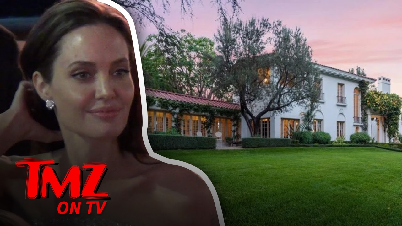 Angelina Jolie Drops $25 Million On Cecil B. DeMille Estate | TMZ TV 3