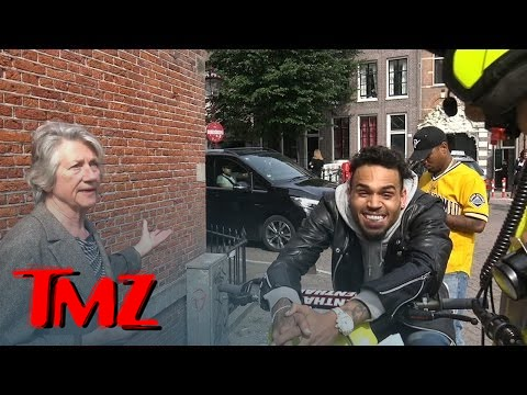 Chris Brown -- Can't Contain Himself as a Local Woman Rats Him Out | TMZ 3