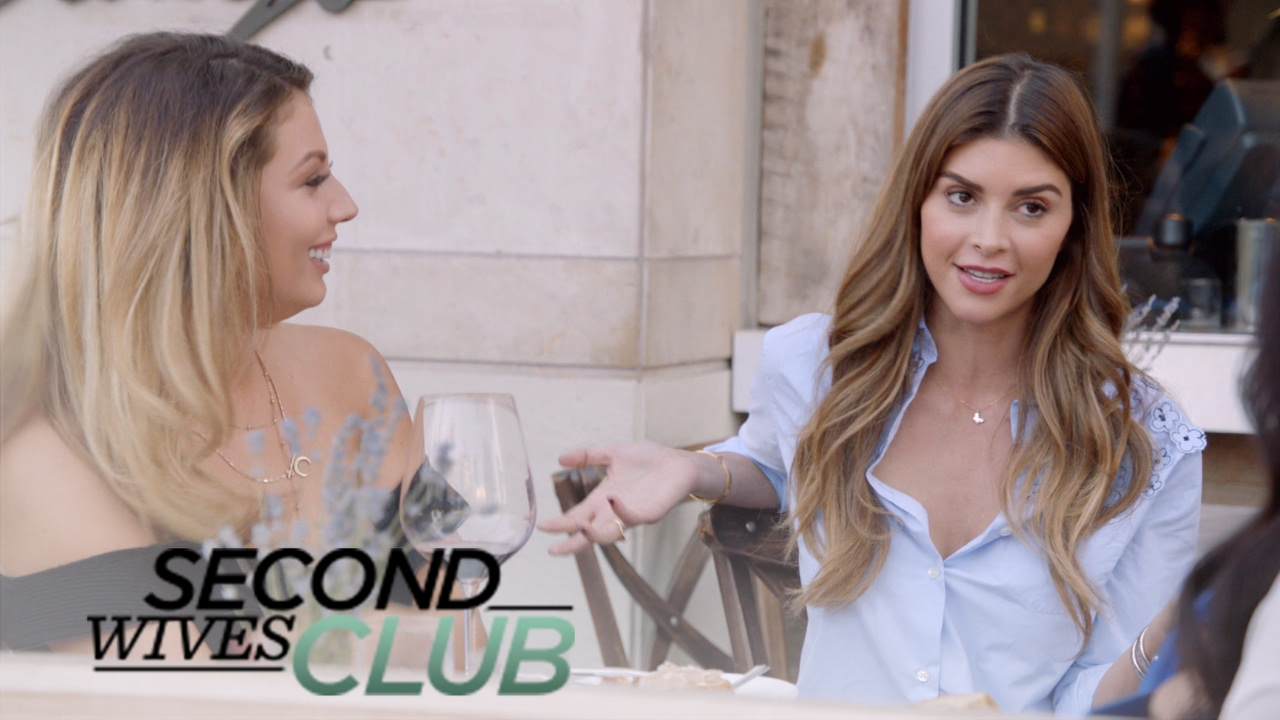 Mohamed Hadid & Shiva Safai Play Matchmaker | Second Wives Club | E! 3