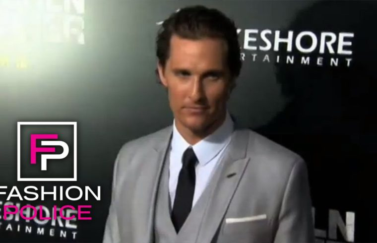 Fashion Police | Hollywood Man Candy | E! 1