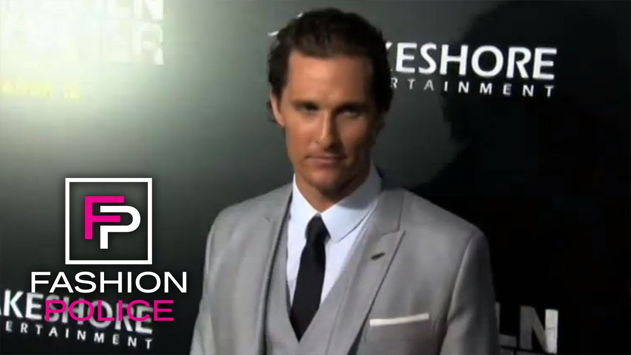 Fashion Police | Hollywood Man Candy | E! 3