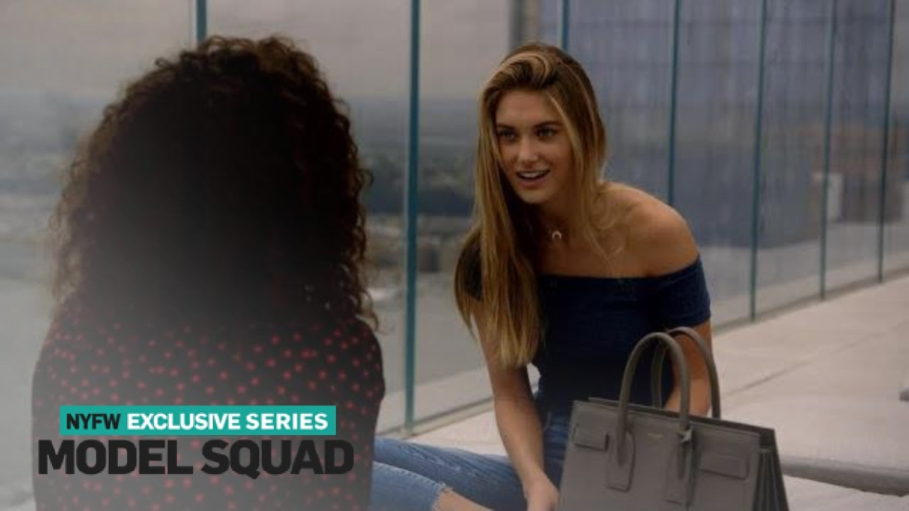 Caroline Lowe Reveals She Wants to Be a Young Mom | Model Squad | E! 1