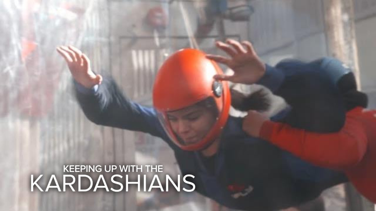 KUWTK | Kendall Jenner Rules at Indoor Skydiving | E! 1