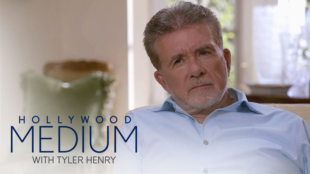 Tyler Henry Makes a Stunning Prediction for Alan Thicke | Hollywood Medium with Tyler Henry | E! 3