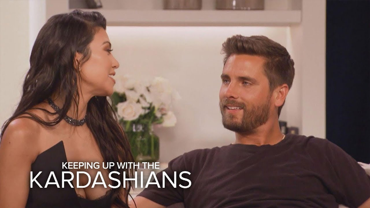 KUWTK | Kourtney Kardashian and Scott Disick Address Their Split | E! 1