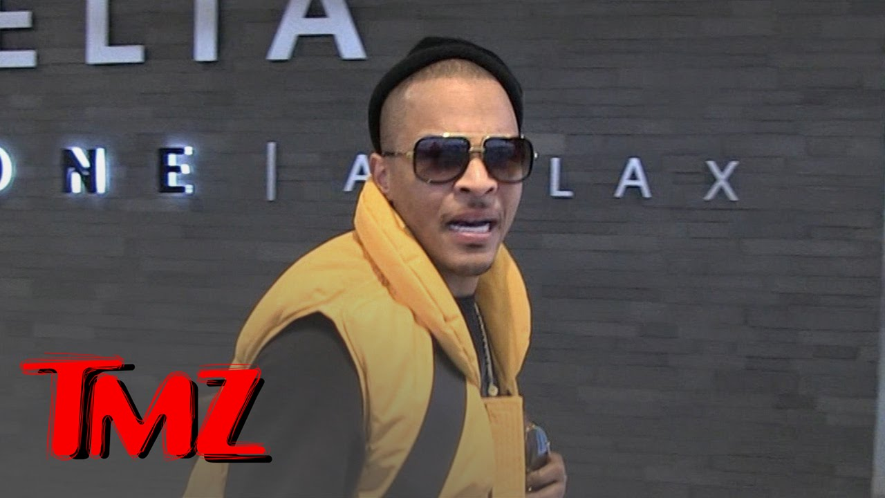 Watch T.I.'s Excitement at Our Donald Trump Question/Mistake | TMZ 1