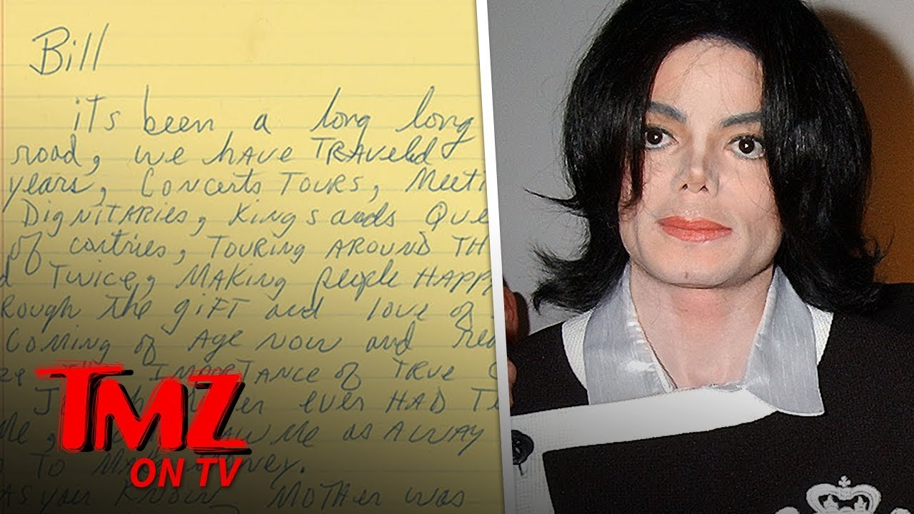 Michael Jackson Letter Thanking Security for 'Being a Father' Hits Auction | TMZ TV 2