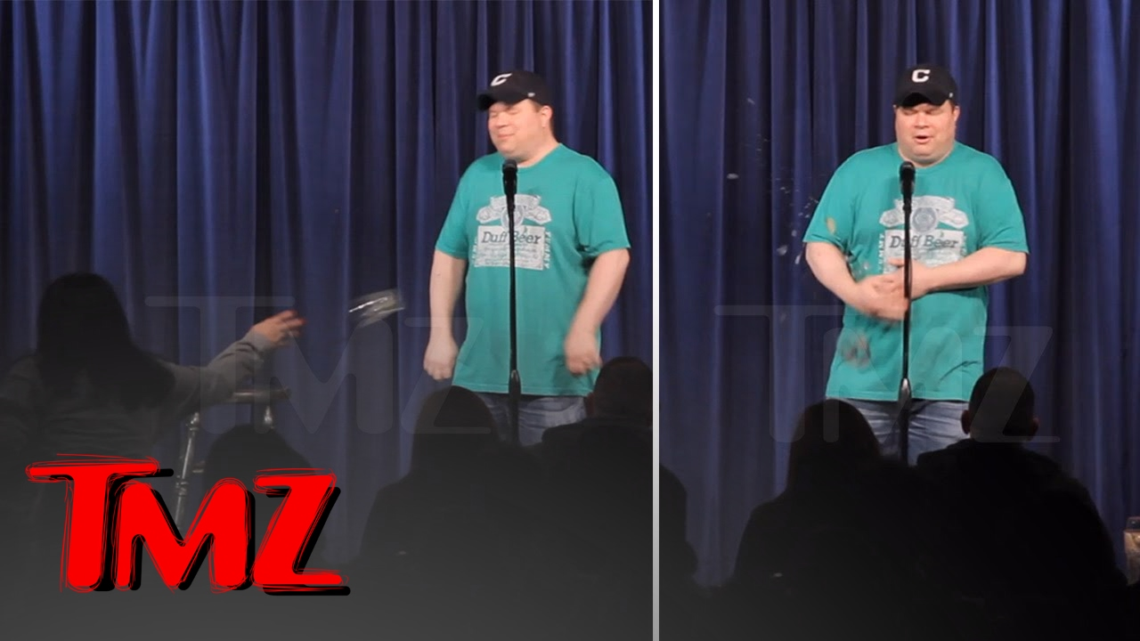 Comedian John Caparulo Attacked By Trump Supporter | TMZ 3
