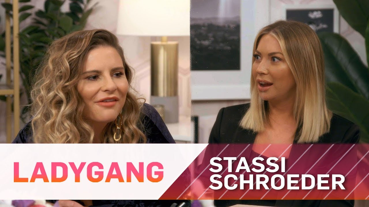 Stassi Schroeder Stunned by Nipple Hairs | LadyGang | E! 5