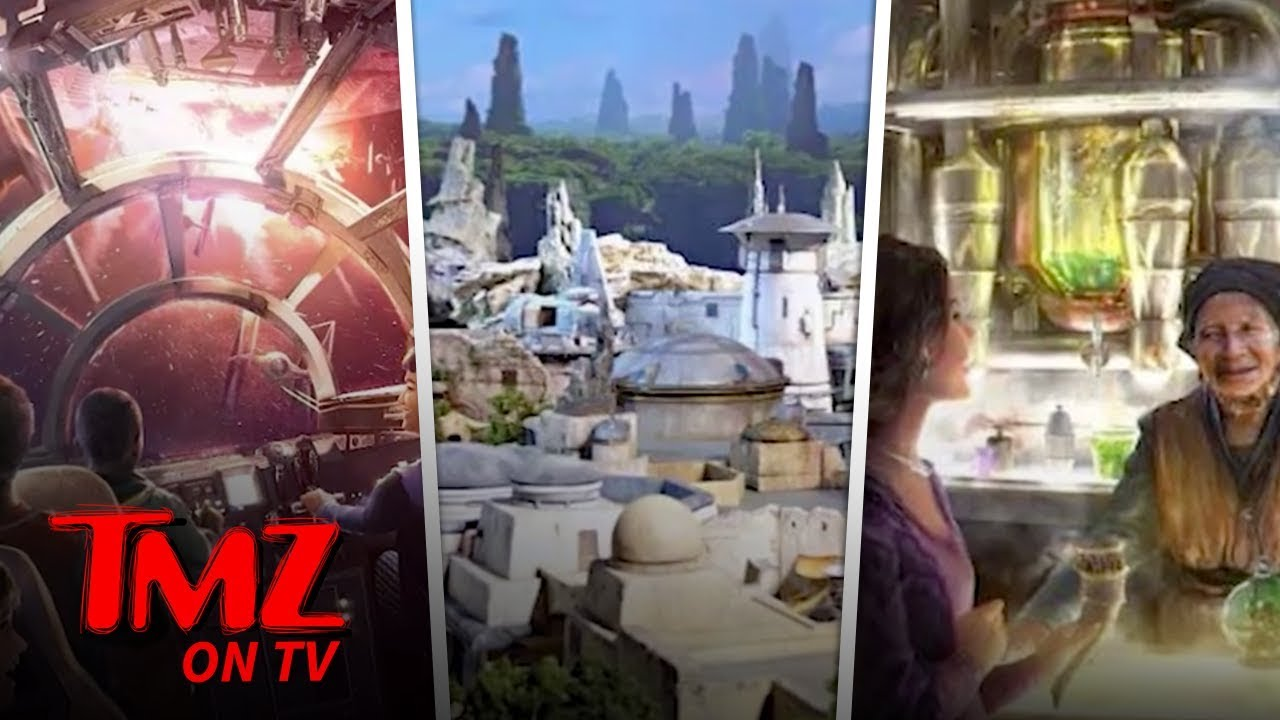 New Disneyland Attraction Star Wars: Galaxy's Edge Set To Open Early | TMZ TV 3