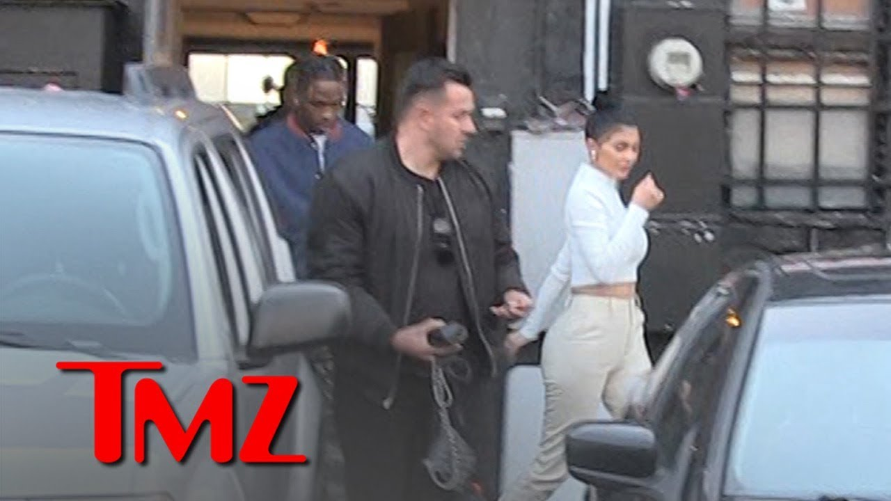Kylie Jenner and Travis Scott Have Dinner Together with Stormi | TMZ 1