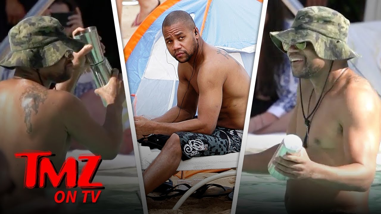 Cuba Gooding Jr. Lets Loose In A Pool In Vegas | TMZ TV 5