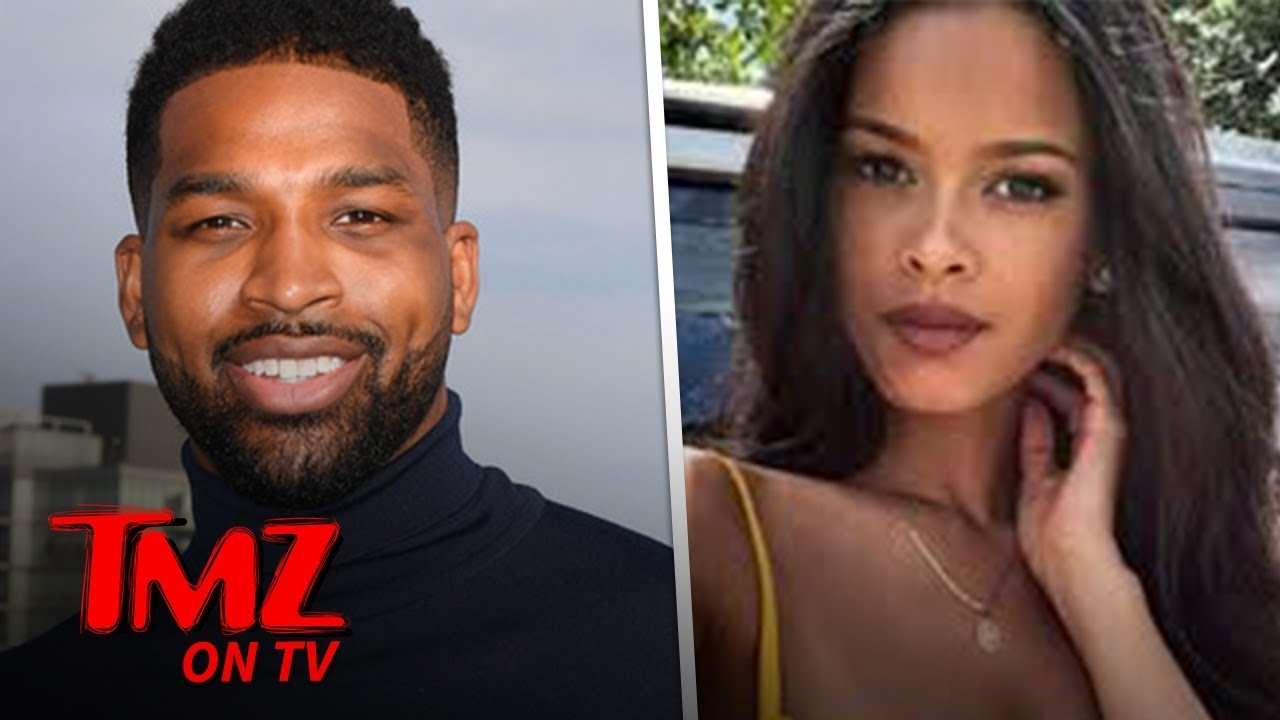 Tristan Thompson's Mystery Chick Revealed! | TMZ TV 5