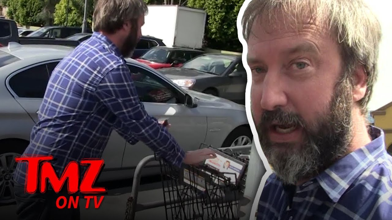 Tom Green Is A Grade A Citizen | TMZ TV 3