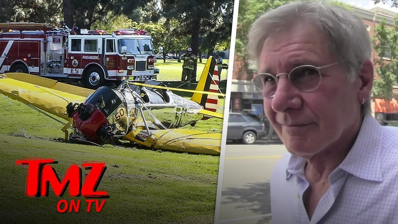 Harrison Ford Doesn't Want To Take About The Boeing 737 Crash | TMZ TV 3