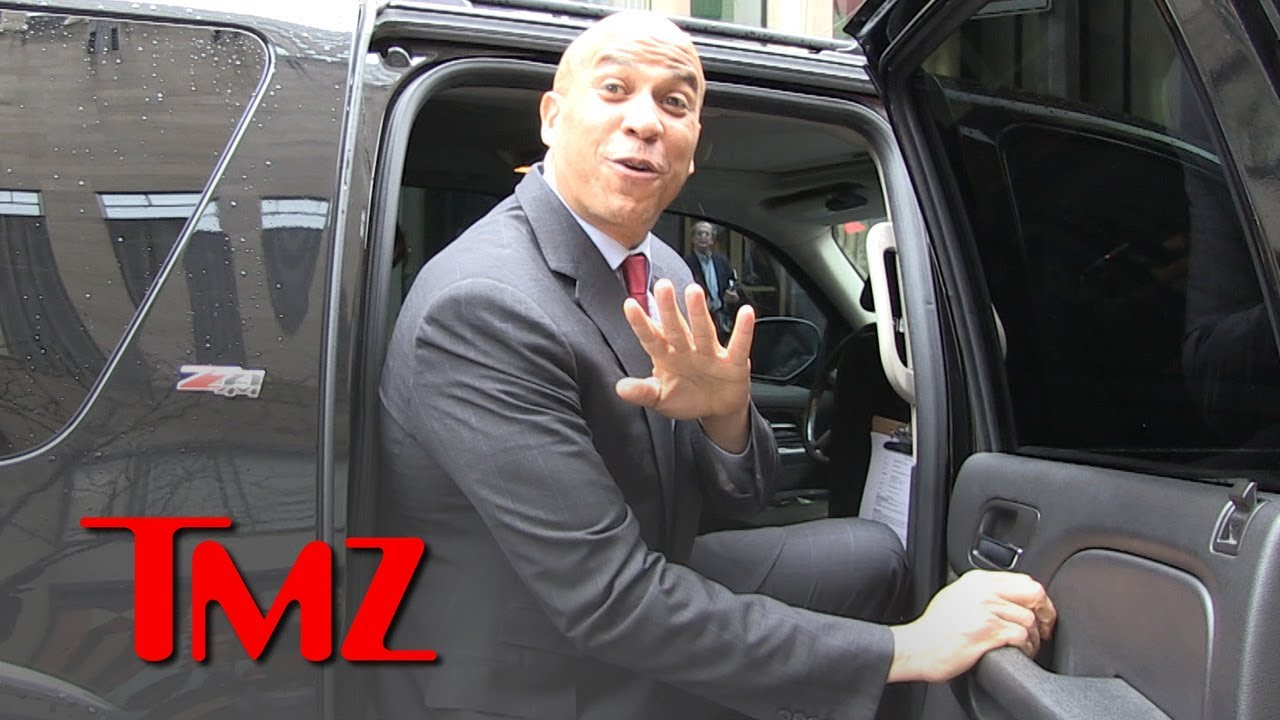 Cory Booker Dotes on GF Rosario Dawson, Says She'd be Incredible First Lady | TMZ 2