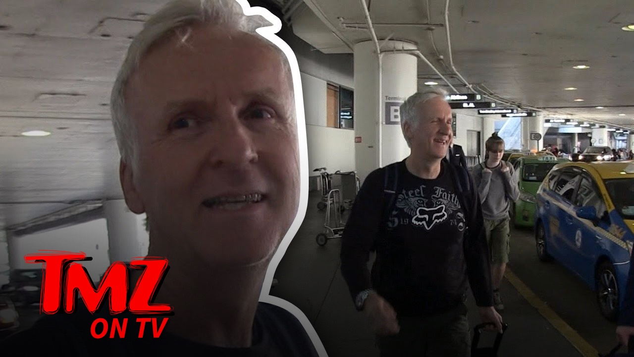 James Cameron: He's The One Getting Directed Now | TMZ TV 3