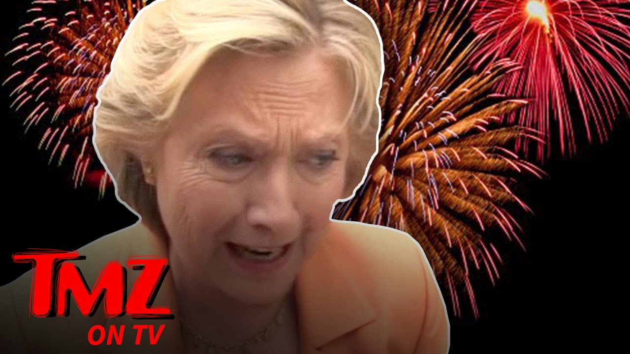 Hillary Clinton Pulls Plug On Election Night Fireworks | TMZ TV 5