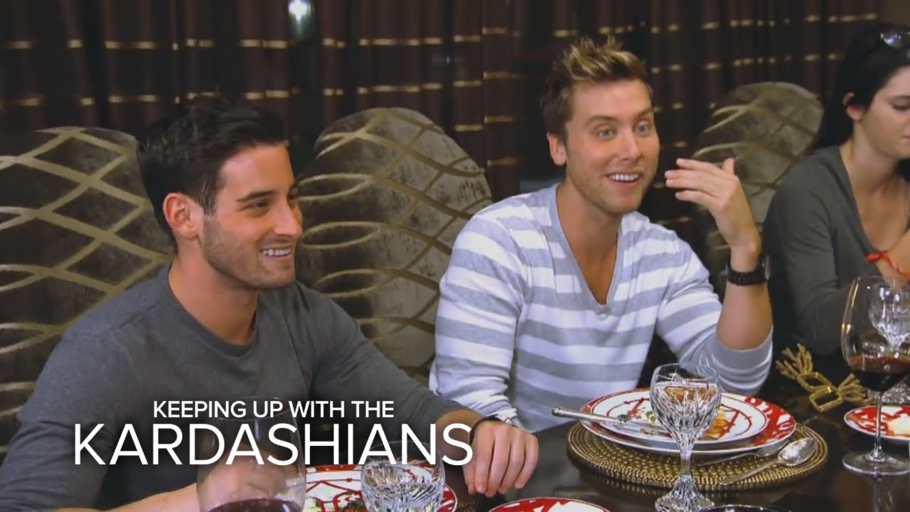 KUWTK | Lance Bass in the House | E! 2