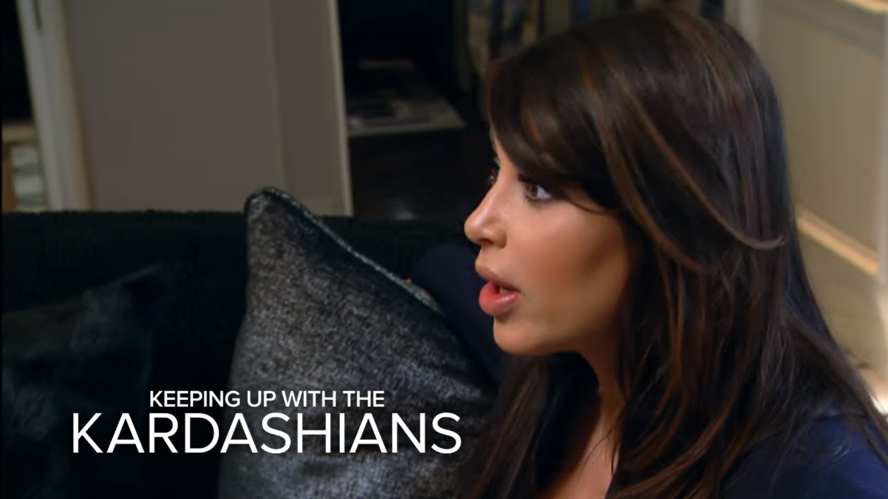 KUWTK | Will Kim Kardashian Move In with Mom? | E! 4