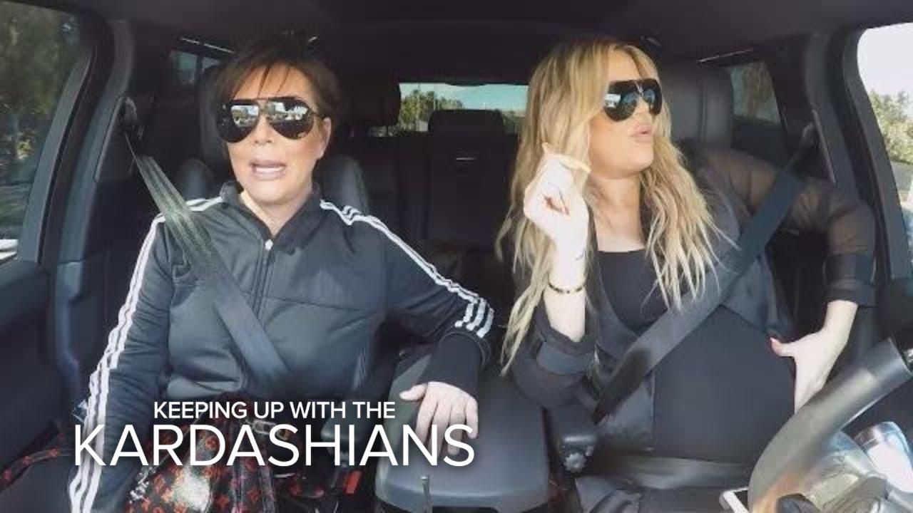 KUWTK | Kris Jenner Criticizes Khloe Kardashian's Driving Habits | E! 2