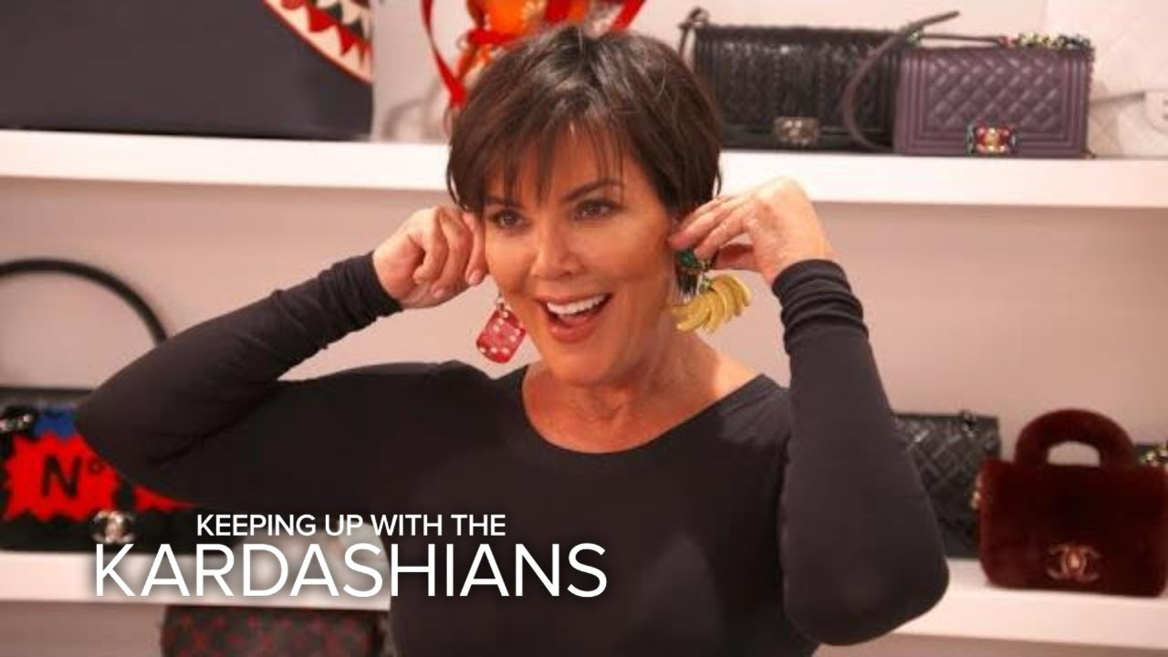 KUWTK | Kris Jenner Is Ready to Show Off Her New Ears! | E! 3