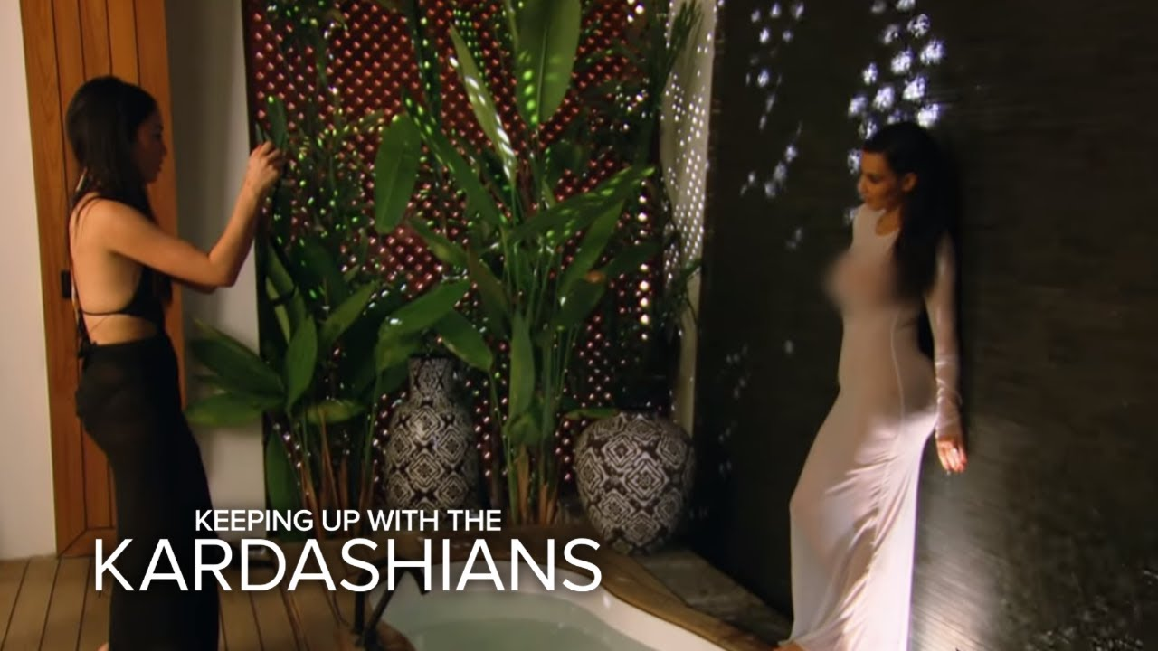 KUWTK | Brody Jenner Walks In on Kim K.'s Sinful Photo Session | E! 1