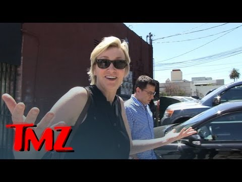 Jane Lynch -- Confirms Naya Rivera Fired From 'Glee' ... Or Doesn't | TMZ 3