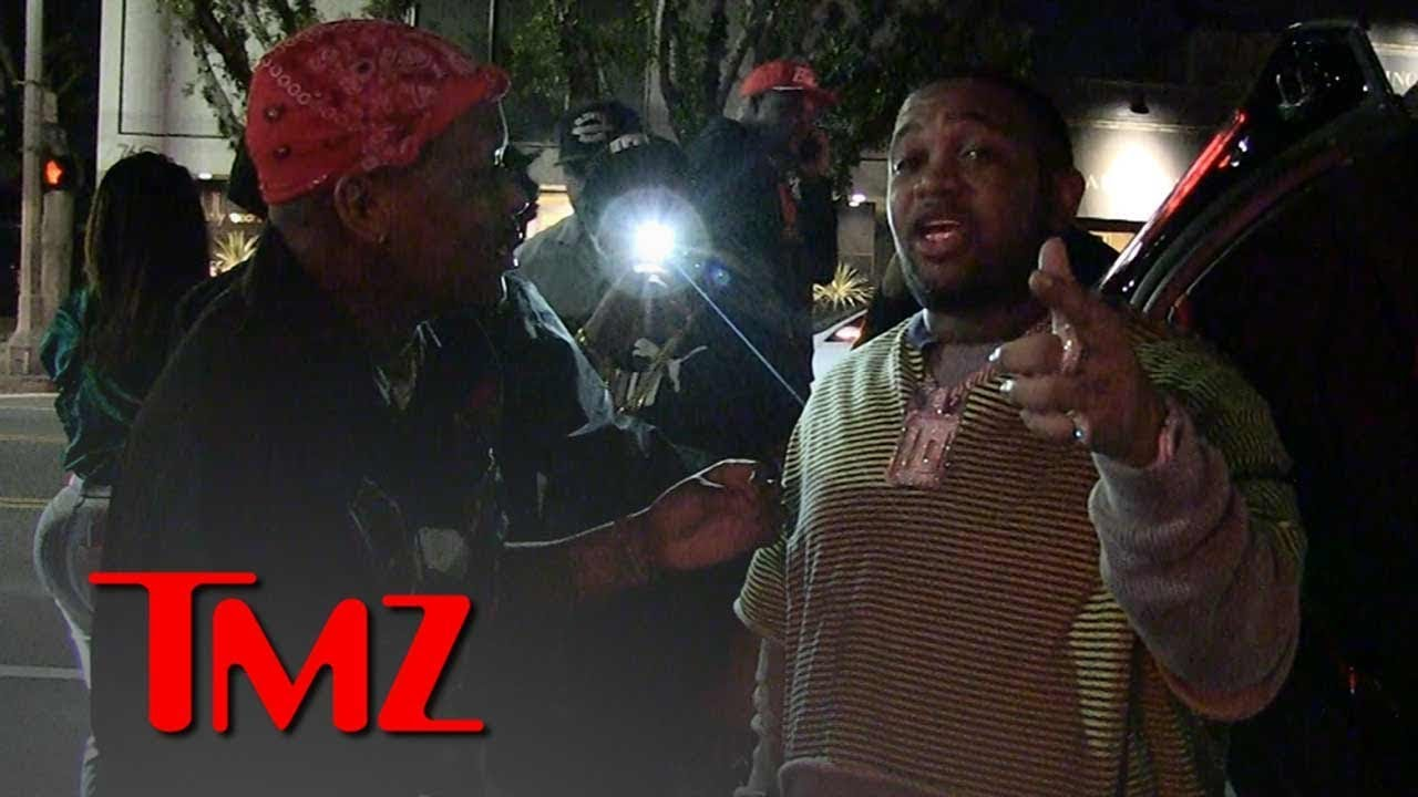 YBN Almighty Jay Gets Stomped in NYC Street Fight | TMZ 2